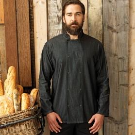 Denim Chef's Jacket