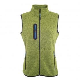Ladies Knitted Fleece Vest
