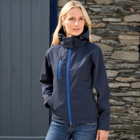 Womens TX Performance Hooded Softshell Jacket