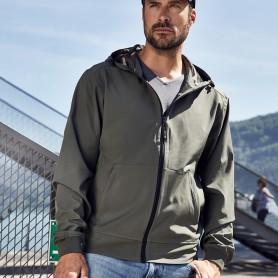 Men's Hooded Softshell Jacket