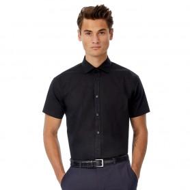 Camicia uomo - Cotone Elasticizzato - Maniche Corte