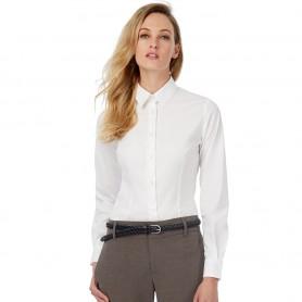 Camicia Donna - Cotone Elasticizzato - Maniche Lunghe