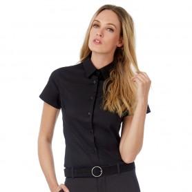 Camicia Donna - Cotone Elasticizzato - Maniche Corte