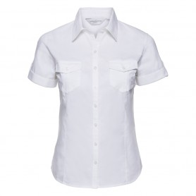 Ladies' Roll Short Sleeve Shirt