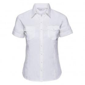 Ladies' Roll Short Sleeve Shirt
