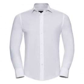 Men's Long Sleeve Easy Care Fitted Shirt