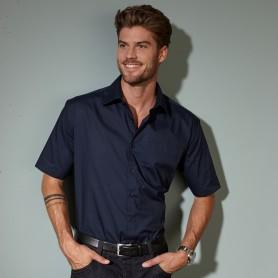 Men's Business Shirt Shortsleeve