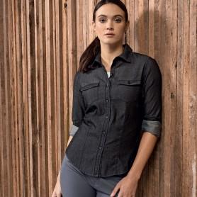Camicia Donna Jeans