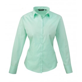 Poplin Long Sleeve Blouse