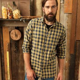 Men's LSL 'Mulligan' Check Cotton Bar Shirt