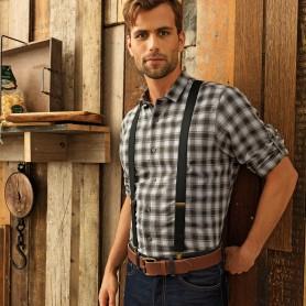 Camicia Uomo - MULLIGAN - 100% Cotone