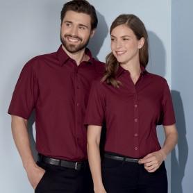 Camicia Donna - 65% Poliestere 35% Cotone - Manica Corta
