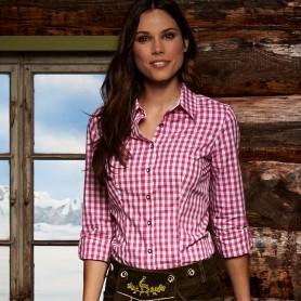 Camicia Donna BAVARESE - Tradizionale a quadri