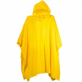 PONCHO IN PVC C/BUSTA ROSSO