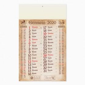Calendario olandese da parete ANTICATO