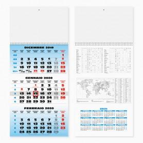 Calendario trimestrale da parete SPIRAL