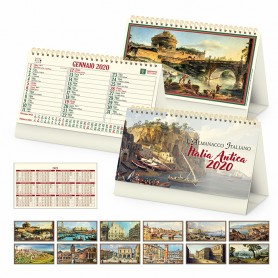 Calendario illustrato da tavolo ITALIA ANTICA