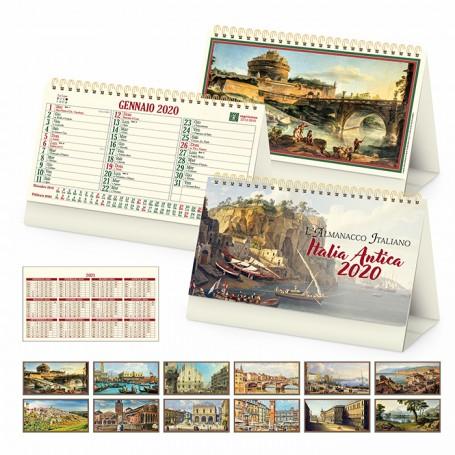 Calendario illustrato da tavolo ITALIA ANTICA
