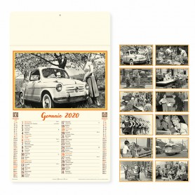 Calendario illustrato da parete COME ERAVAMO