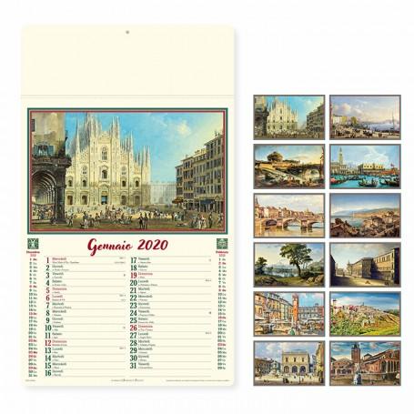 Calendario illustrato da parete ITALIA ANTICA