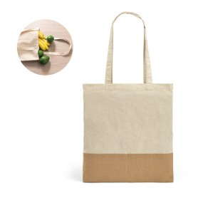 MERCAT - Borsa Shopper cotone naturale