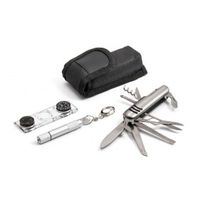Kit outdoor LOFER coltellino, bussola e torcia