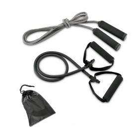 SET FITNESS: Corda per saltare + elastico