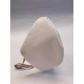 Mascherina BIANCA cotone + polipropilene TNT