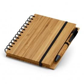 DICKENS A5 - Block note + Penna Bambù