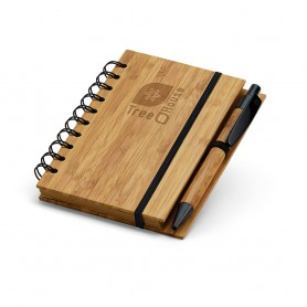 DICKENS A6 - Block note + Penna Bambù