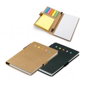 COOPER - Block notes + adesivi + penna