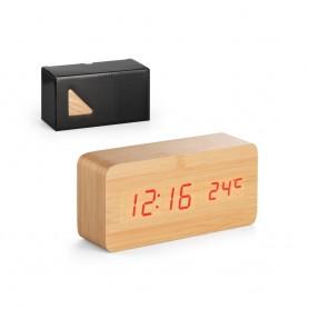 DARWIN - Orologio da tavolo in legno