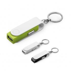 CARTECH - Portachiavi con caricatore USB per auto