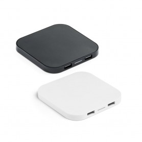 CAROLINE - Caricatore wireless e hub USB 20