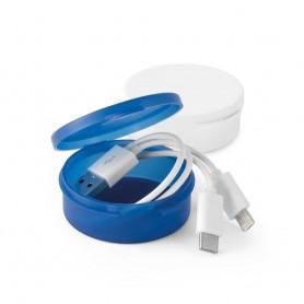 EMMY - Cavo USB con connettore 3 in 1