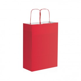 Borsa di carta - colori vari - 22x29x10 cm