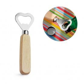 HOLZ - Apribottiglie in metallo e legno