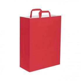 Borse di carta, col. vari, 32x43x17 cm