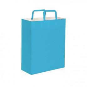 Borse di carta, col. vari, 22x29x10 cm