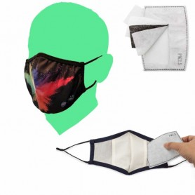 Mascherina Personalizzata con Filtro KN95 Intercambiabile