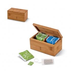 BURDOCK - Scatola da té in bambù