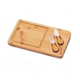 WOODS. Tagliere per formaggi in bambù
