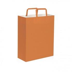 Borse di carta, col. vari, 19x24x7 cm