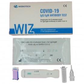Kit test rapido anticorpi e virus COVID 19 - Prelievo dal polpastrallo