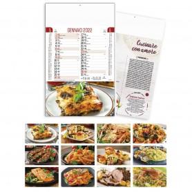 """Calendario Chef """"Gastronomia"""""""