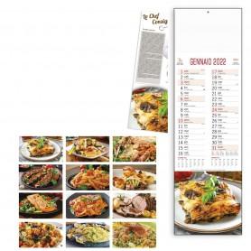 "Calendario ""Gastronomia"" SLIM"