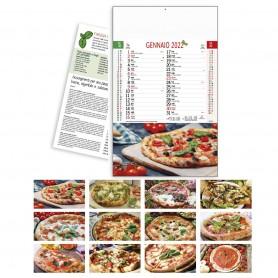 "Calendario Illustrato ""Pizzeria"""