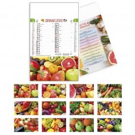 """Calendario Fruttivendolo """"Frutta e Ortaggi"""""""
