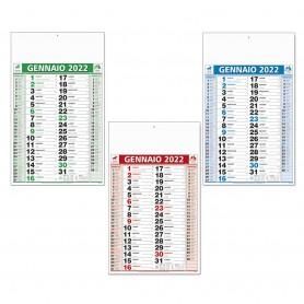 """Calendario Olandese """"Tre colori"""""""