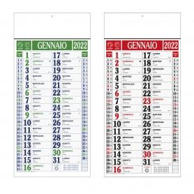 """Calendario Olandese """"Maxi Quadrettato"""""""